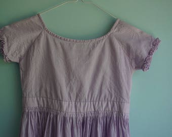 1860's Girl's Civil War Dress 6-8