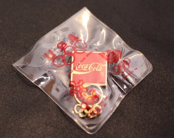 Vintage McDonalds 1988 Calgary Winter Games Vintage Tack Pin Golden Arches Official Coke pin