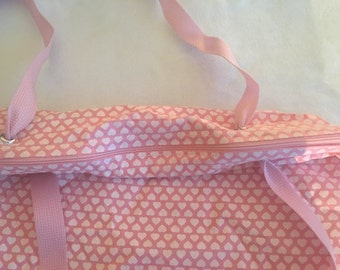 Pink Hearts Tote