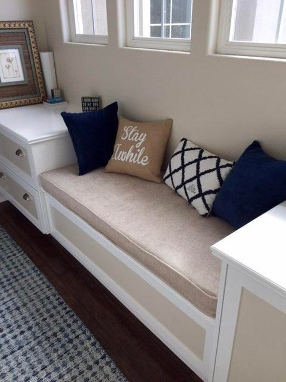 how to make a box cushion with piping