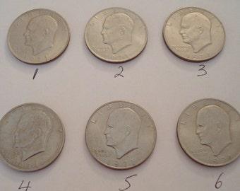 1971-D Eisenhower One Dollar Coin Ike Dollar Coin