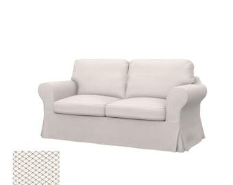 IKEA EKTORP 2-seat sofa cover. Wide range of high quality fabrics to choose from
