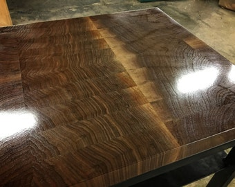 Second Manliest Table Ever Made - Walnut Butcher Block