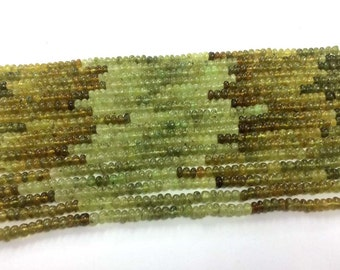 Free ship Grossular garnet beads 5mm-6mm Smooth Rondell Gemstone Beads, grossular garnet beads plain beads 13.5 Inches