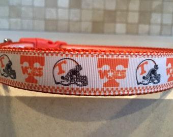 Tennessee Vols Large and Medium Dog Collar