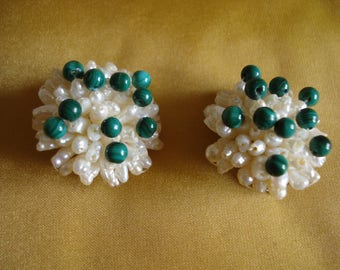 Earrings / Pearly beads