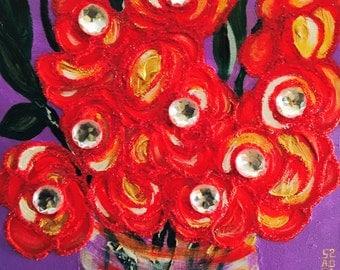 Colorful ORIGINAL Art for Sale - BLOOMIN BRITT
