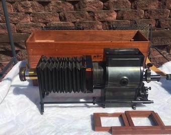 Amazing c1910 Bausch and Lomb Baloptican Model C Magic Lantern