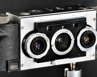Stereo Realist 35mm Camera w 35mm f/3.5 Lens David White Co. NiCE !