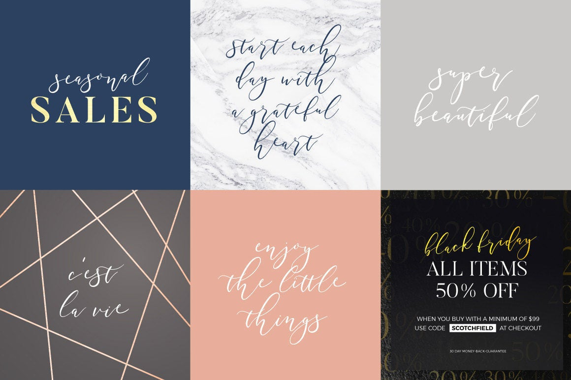 Modern handwriting font modern font calligraphy font wedding font