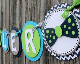 Little Man Baby Shower Banner - Little Man Banner - Baby Boy Shower