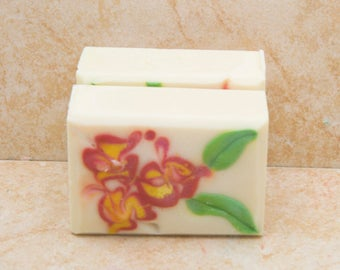 Handmade Soap Scented Soap Gift Soap Bath Soap Spring Flowers Mothers Day Gift