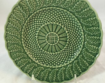 Vintage Majolica Plate From Portugal