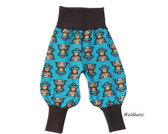 Bloomers * monkey turquoise *-request size