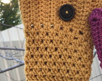 Crocheted Boot Cuff