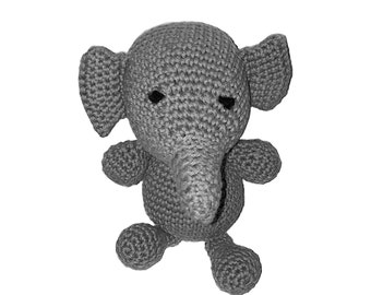 Amigurumi Stuffed Elephant