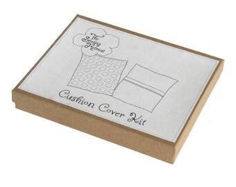 Organic Cushion Cover Sewing Kit