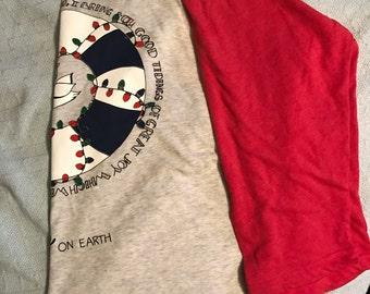Peace on Earth Long Sleeve T shirt