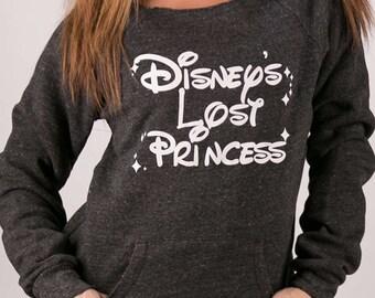 "Off The Shoulder Fleece. ""Disney's Lost Princess"".Disney Princess Gym Sweatshirt. Off Shoulder Sweatshirt. Off Shoulder Fleece Sweater"