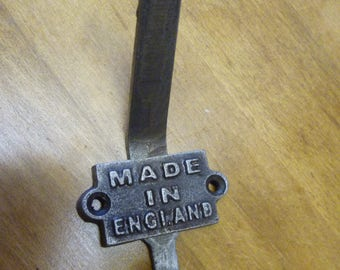Industrial Made In England  5 x Coat Hooks Entryway Hooks Birthday Fathers day  Gift