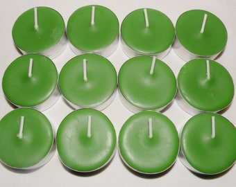 Rosemary Mint  Scented Soy Tea Lights You Pick Package