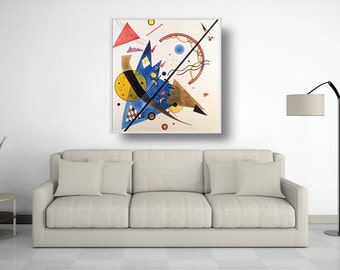 "Art reproduction - oil on canvas - Kandinsky - ""Bow and Arrow"" - oil on canvas - oil paintings"
