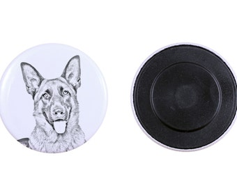 Magnet with a dog - German Shepherd