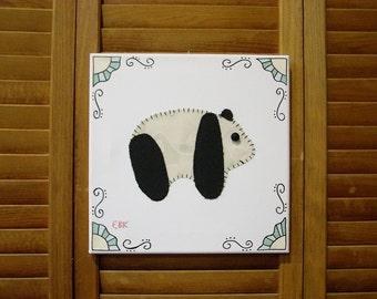 Baby Panda #1 Fabric Wall Art