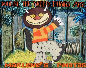 Where the wild things are pinata...!