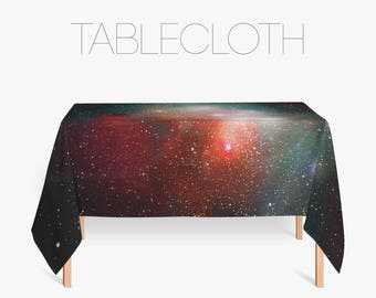 Nabula Tablecloth, Space Art, Galaxy Print, Kitchen Decoration, Cool Tablecloths, Modern Tablecloth, Kitchen Table Decor