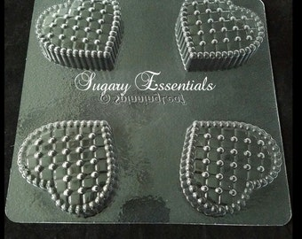 Heart Quilted Oreo Mold