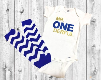 Mr. ONEderful Birthday Outfit | First Birthday Outfit | Birthday Outfit | Mr Onederful | Boys first birthday outfit | Smash cake outfit