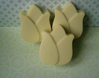 Vegan olive oil SOAP Tulip