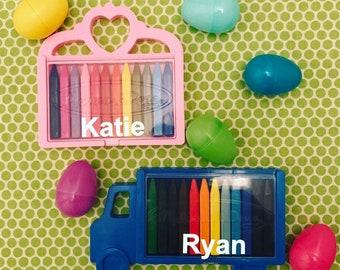 Monogrammed crayons
