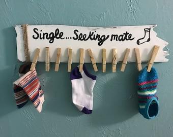 Laundry Room Sock Holder