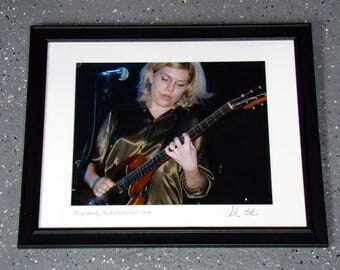 Tanya Donelly - Framed, Matted Photograph 16X20 (1996)