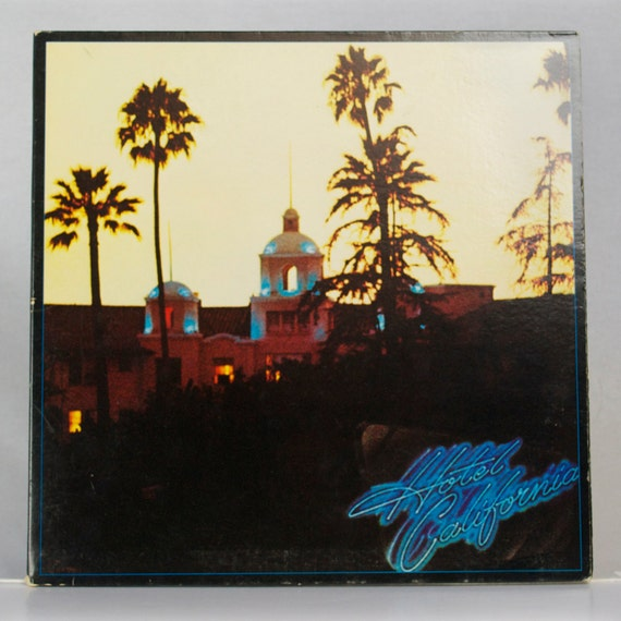 Eagles Hotel California 1976 Album Asylum Records Original Vintage Vinyl