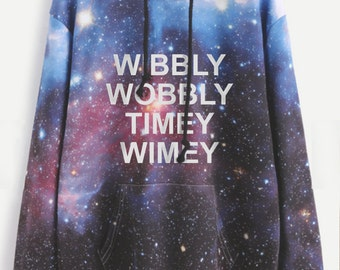 Doctor Who inspired sweatshirt - 10th Doctor - BBC