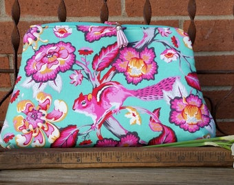 Tula Pink Chipper Cosmetic Bag