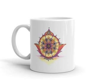 Abundance Mandala Mug