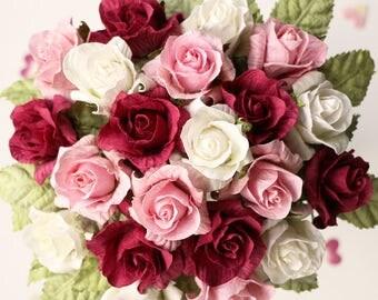 Paper Wedding Bouquet | Paper Rose Bridal Flowers