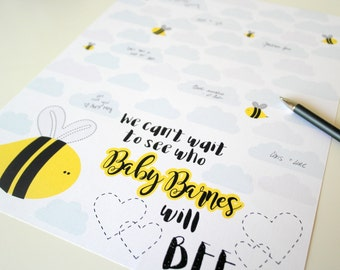 bumble bee baby shower guest sign in bee baby shower decorations gender neutral baby