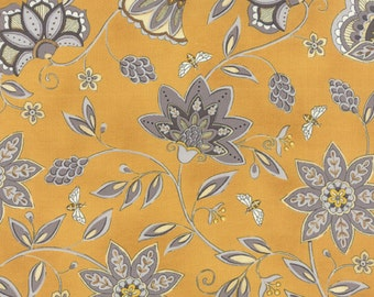 Bee Creative by Deb Strain Gold Floral Print