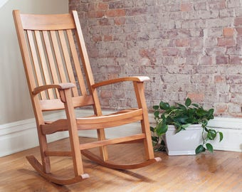 Rocking Chair, rocking chairs, Outdoor wood furniture, patio wood furniture, wood deck furniture, teak chair, nursery chair, wood furniture
