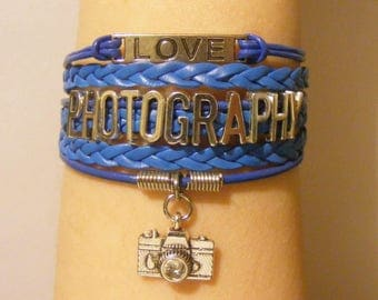 Photography bracelet, photography jewelry, camera bracelet, camera jewelry, fashion bracelet, fashion jewelry, photographer bracelet