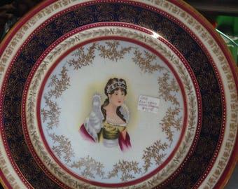 Royal Vienna Empress Josephine Plate