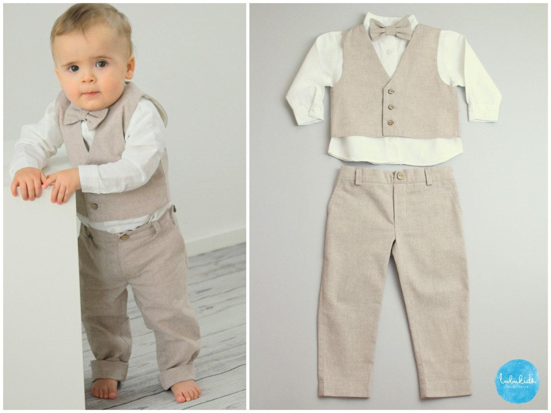 baby jungen taufanzug taufe ringtr ger outfit blumenkinder. Black Bedroom Furniture Sets. Home Design Ideas