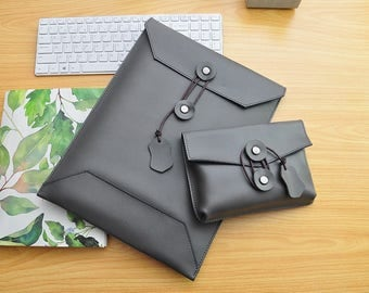 Leather Macbook 13inch Sleeve Macbook Pro 13 Case Macbook Air Sleeve 13.3 Macbook Case 13inch Laptop Bag 13 New Macbook Pro Case 13inch-079