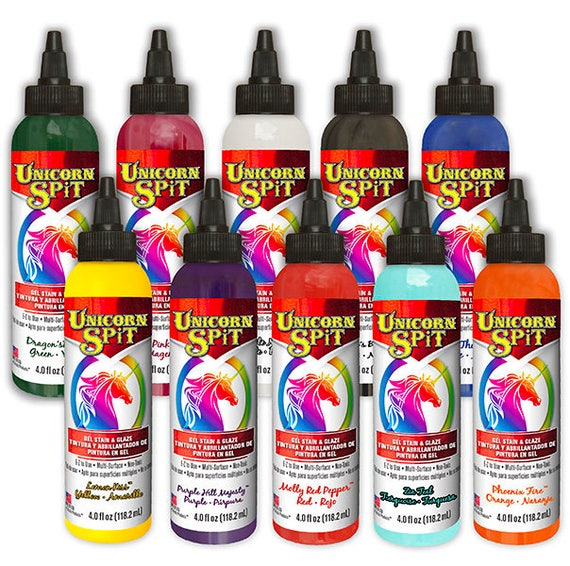 Unicorn Spit Gel Stain And Glaze In One 10 Colors Available