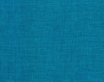 Timeless Treasures Soho Sketch in Teal Cotton Quilting Fabric by the Yard - listing is for 1 Yard - FM
